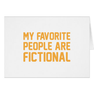 Fictional People Card