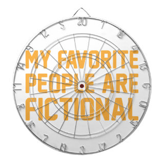 Fictional People Dartboard