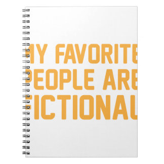 Fictional People Notebook
