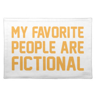 Fictional People Placemat