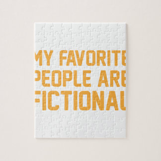 Fictional People Puzzles