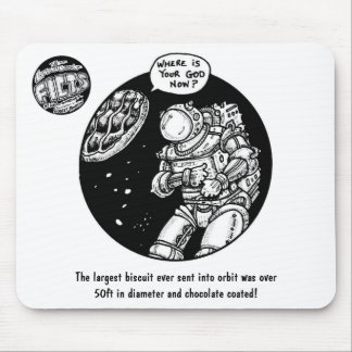"FICTS ""Biscuit in Space"" Mousepad"