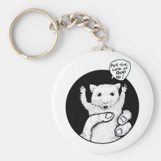 "FICTS ""Hamster Savings"" Keychain"