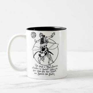 "FICTS ""Wasp-Surfing"" 2-Tone Mug"