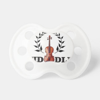 fiddle in black pacifiers