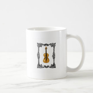 fiddle in the middle of frame coffee mug