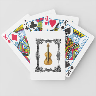 fiddle in the middle of frame poker deck