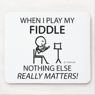 Fiddle Nothing Else Matters Mouse Pad