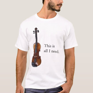 Fiddle Nut #1 T-Shirt