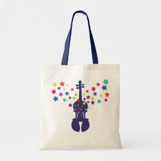 Fiddle Star Tote Bag