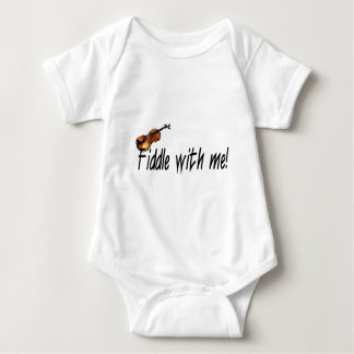 Fiddle with me! baby bodysuit