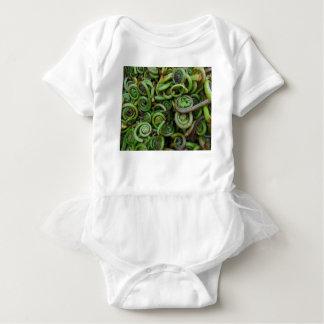 Fiddlehead Ferns Baby Bodysuit