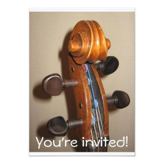 FIddlehead invitation