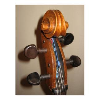 Fiddlehead postcard