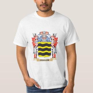 Fiddler Coat of Arms - Family Crest T-Shirt