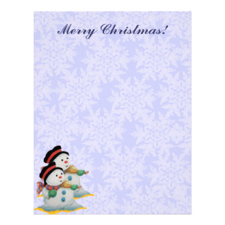 Fiddler Snowmen Letterhead