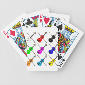 Fiddles Bicycle Playing Cards