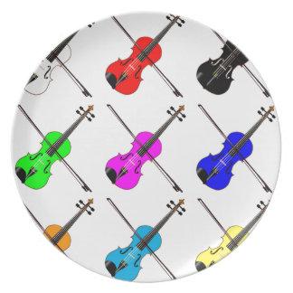 Fiddles Dinner Plates