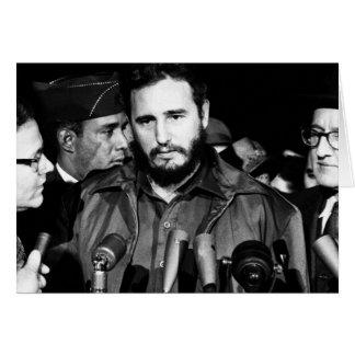 Fidel Castro 1959 Card
