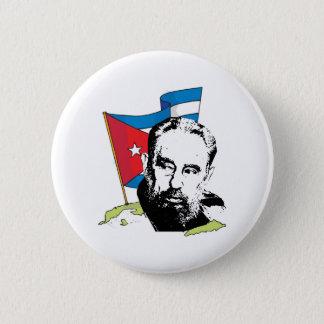 Fidel Castro 2 Inch Round Button