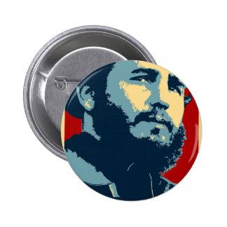Fidel Castro - Cuban Revolution President of Cuba 2 Inch Round Button