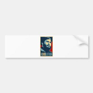 Fidel Castro - Cuban Revolution President of Cuba Bumper Sticker