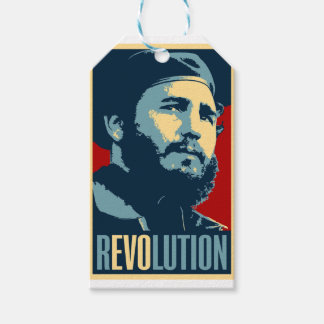 Fidel Castro - Cuban Revolution President of Cuba Pack Of Gift Tags