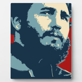 Fidel Castro - Cuban Revolution President of Cuba Plaque