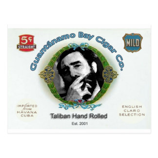 Fidel Castro Guantanamo Bay Cuba Cigar Company Postcard