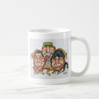 fidel castro,hugo chavez, evo morales coffee mug