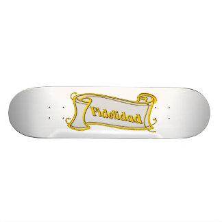 Fidelidad - loyalty writing volume kind Deco Fanta Skate Boards