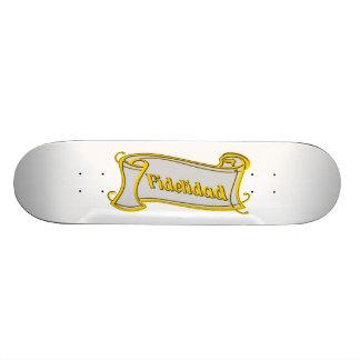 Fidelidad - loyalty writing volume kind Deco Fanta Skateboards