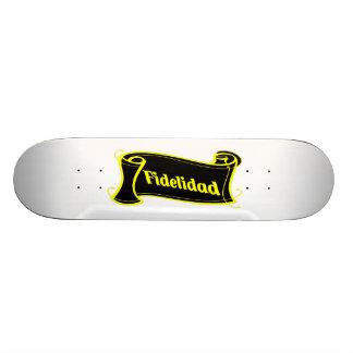 Fidelidad - loyalty writing volume kind Deco Fanta Skate Board
