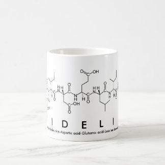 Fidelis peptide name mug