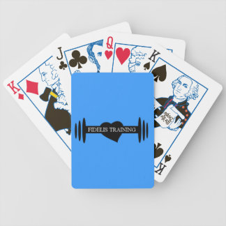 Fidelis Training Playing Cards