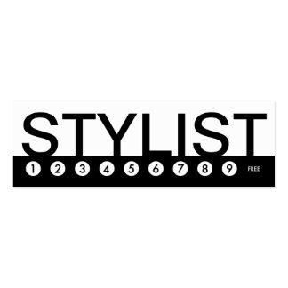 fidélité audacieuse de client de STYLISTE Modèles De Cartes De Visite
