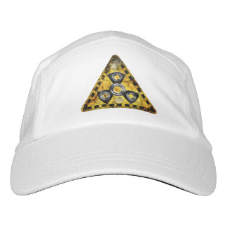 Fidget Spinner Nuclear Radiation Warning Triangle Hat