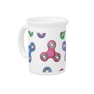 Fidget spinner pattern pitcher