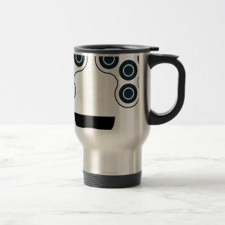 Fidget Spinner Smile Travel Mug