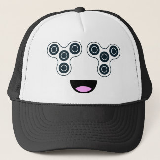 Fidget Spinner Smile Trucker Hat