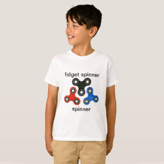fidget spinner t-shirt