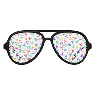 Fidget Spinners Aviator Sunglasses