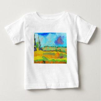 Field Art, After Pissarro Baby T-Shirt