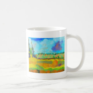 Field Art, After Pissarro Coffee Mug