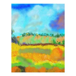 Field Art, After Pissarro Letterhead
