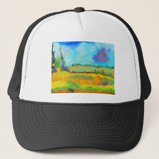 Field Art, After Pissarro Trucker Hat