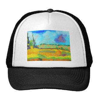 Field Art, After Pissarro Trucker Hat