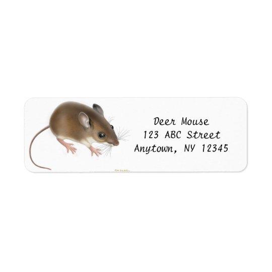 Field Deer Mouse Customizable Avery Label Return Address Label