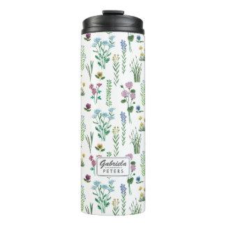 Field Flowers Floral | Thermal Tumbler