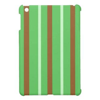 Field Green Stripes iPad Mini Covers